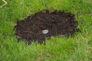 Bodenhülse für die Edelstahlrohre